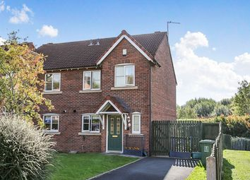 Thumbnail 2 bed semi-detached house for sale in Heathfield Close, Carlisle