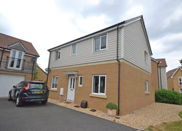 Thumbnail 4 bed detached house for sale in Endeavour Avenue, Exeter