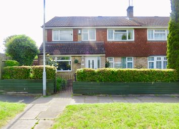 Thumbnail 5 bed semi-detached house for sale in Trimley Close, Luton
