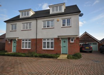 Thumbnail 4 bed semi-detached house to rent in Mundells Drive, Basildon