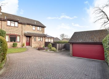 Thumbnail 4 bed detached house for sale in Templar Close, Sandhurst