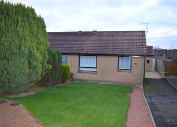 Thumbnail 3 bed semi-detached bungalow for sale in Knivestone Court, Tweedmouth, Berwick-Upon-Tweed