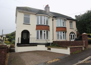 Thumbnail 3 bed semi-detached house for sale in Tichfield Gardens, Paignton