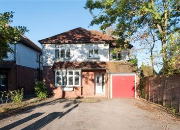 Thumbnail 4 bed detached house for sale in Frimley Road, Camberley, Surrey