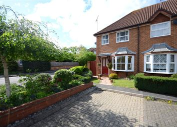 Thumbnail 2 bedroom end terrace house for sale in Blanchard Close, Woodley, Reading