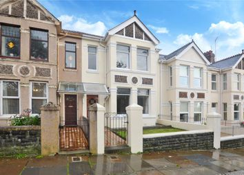 Thumbnail 4 bed terraced house for sale in Peverell Park Road, Plymouth, Devon
