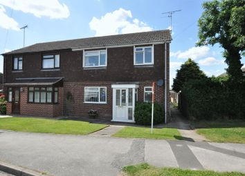 Thumbnail 3 bed semi-detached house for sale in Appletree Road, Hatton, Derby