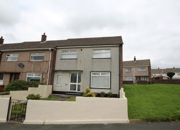 Thumbnail 3 bedroom end terrace house for sale in Pendeen Crescent, Plymouth