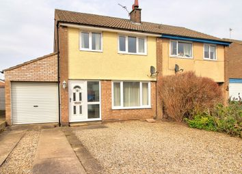 Thumbnail 3 bed semi-detached house for sale in Park Lane, Wilberfoss, York