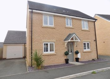 Thumbnail 3 bed detached house for sale in Ffordd Y Grug, Coity, Bridgend.