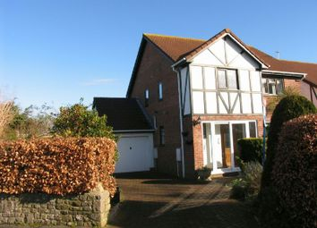 Thumbnail 4 bed detached house to rent in Bramley Close, Sandford, Winscombe