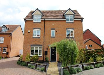 Thumbnail 4 bedroom detached house for sale in Wessex Drive, Giltbrook, Nottingham