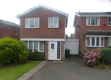 Thumbnail 3 bed detached house to rent in Strawberry Close, Tividale, Oldbury