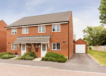 Thumbnail 3 bed semi-detached house for sale in Poppy Way, Havant