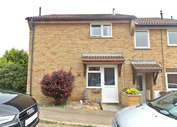 Thumbnail 1 bed end terrace house for sale in Brightwell Close, Felixstowe IP11, Felixstowe,