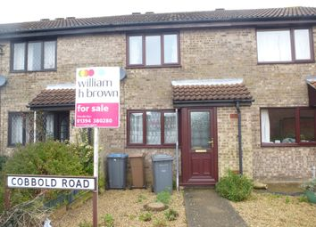 Thumbnail 2 bedroom terraced house for sale in Cobbold Road, Woodbridge