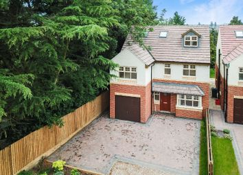 Thumbnail 4 bed detached house for sale in Uppingham Road, Evington, Leicester