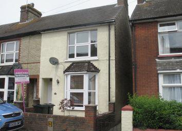 Thumbnail 3 bed terraced house to rent in Herbert Road, South Willesborough, Ashford, Kent