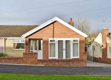 Thumbnail 3 bed semi-detached bungalow for sale in Oaklands Avenue, Bridgend