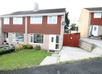 Thumbnail 3 bed semi-detached house for sale in Tuxton Close, Plympton, Plymouth