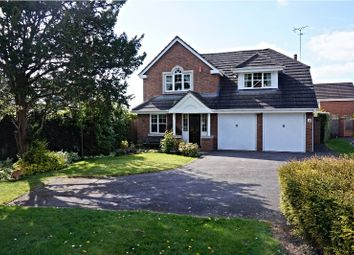 Thumbnail 4 bed detached house for sale in Simpson Close, Syston