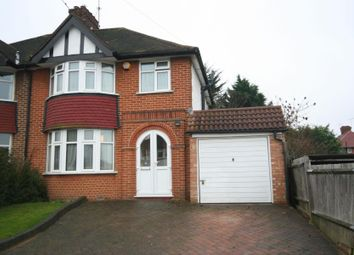 Thumbnail 3 bed semi-detached house for sale in Wykeham Hill, Wembley