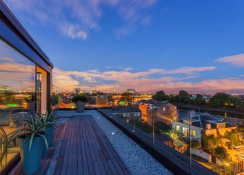 Thumbnail 3 bed flat for sale in Penthouse Bazalgette Court, Chiswick Mall, London