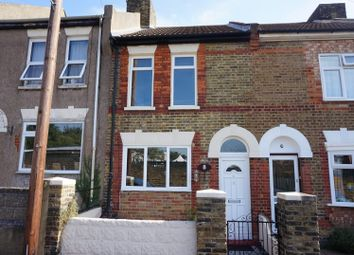Thumbnail 3 bed terraced house for sale in Minerva Road, Rochester