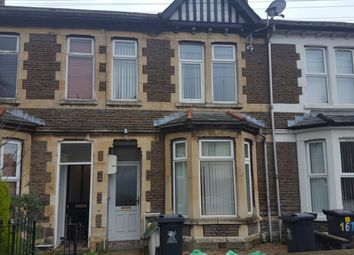 Thumbnail 1 bed flat to rent in Moorland Road, Splott, Cardiff