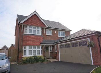 Thumbnail 4 bed detached house for sale in Overlea Drive, Hawarden