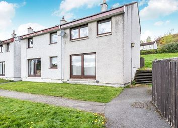 Thumbnail 3 bed semi-detached house for sale in Strathpeffer, Strathpeffer, Ross-Shire