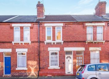 Thumbnail 2 bedroom terraced house for sale in Apley Road, Hyde Park, Doncaster