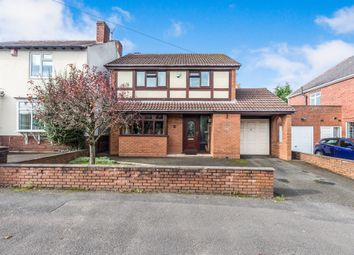 Thumbnail 3 bed detached house for sale in Fairfield Road, Hurst Green, Halesowen