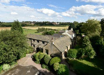Thumbnail 7 bed farmhouse for sale in Liley Lane, Grange Moor, Wakefield