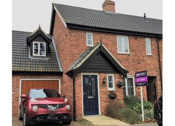 Thumbnail 3 bedroom link-detached house for sale in Copsey Walk, Dereham