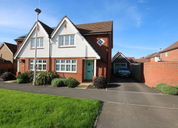 Thumbnail 3 bed semi-detached house for sale in Stemson Avenue, The Harringtons, Exeter