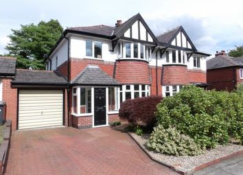 Thumbnail 3 bed semi-detached house for sale in Rhosleigh Avenue, Sharples, Bolton, Greater Manchester