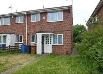 Thumbnail 1 bed town house to rent in Mondello Drive, Alvaston, Derby