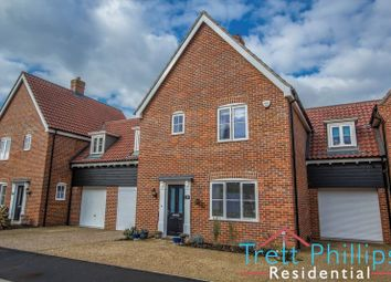 Thumbnail 3 bed link-detached house for sale in Whiley Lane, Stalham, Norwich