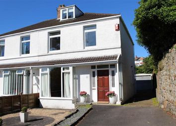 Thumbnail 3 bedroom semi-detached house for sale in West Cross Avenue, West Cross, Swansea