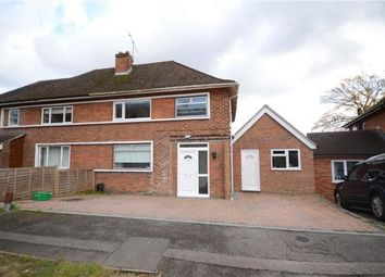 Thumbnail 3 bed semi-detached house for sale in Fernhill Close, Farnborough, Hampshire