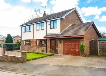 Thumbnail 4 bed detached house for sale in Enfield Close, Eccleston, Chorley
