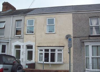 Thumbnail 4 bedroom terraced house to rent in Marlborough Road, Brynmill, Swansea.