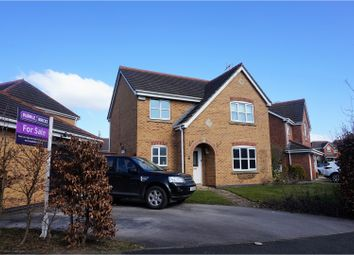 Thumbnail 4 bed detached house for sale in Coalport Drive, Winsford