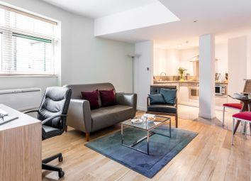 Thumbnail Serviced flat to rent in Bishopsgate, London