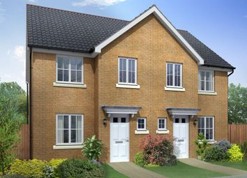 "Thumbnail 3 bed semi-detached house for sale in ""Palmerston"" at Coulson Street, Spennymoor"