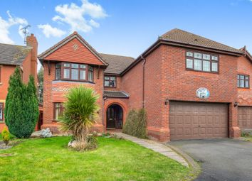 Thumbnail 6 bed detached house for sale in Prospero Drive, Heathcote, Warwick