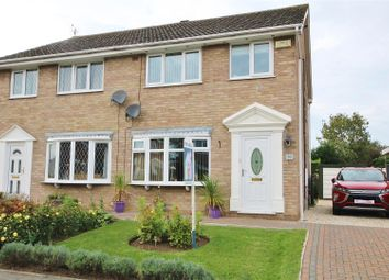 Thumbnail 3 bed semi-detached house for sale in Langrick Avenue, Howden, Goole