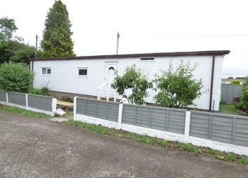 Thumbnail 2 bed mobile/park home for sale in Orchard Caravan Site, Hopton, Stafford, Staffordshire