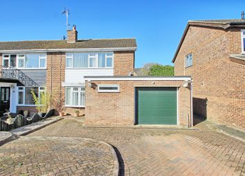 Thumbnail 3 bed semi-detached house for sale in Roman Way, Puckeridge, Ware